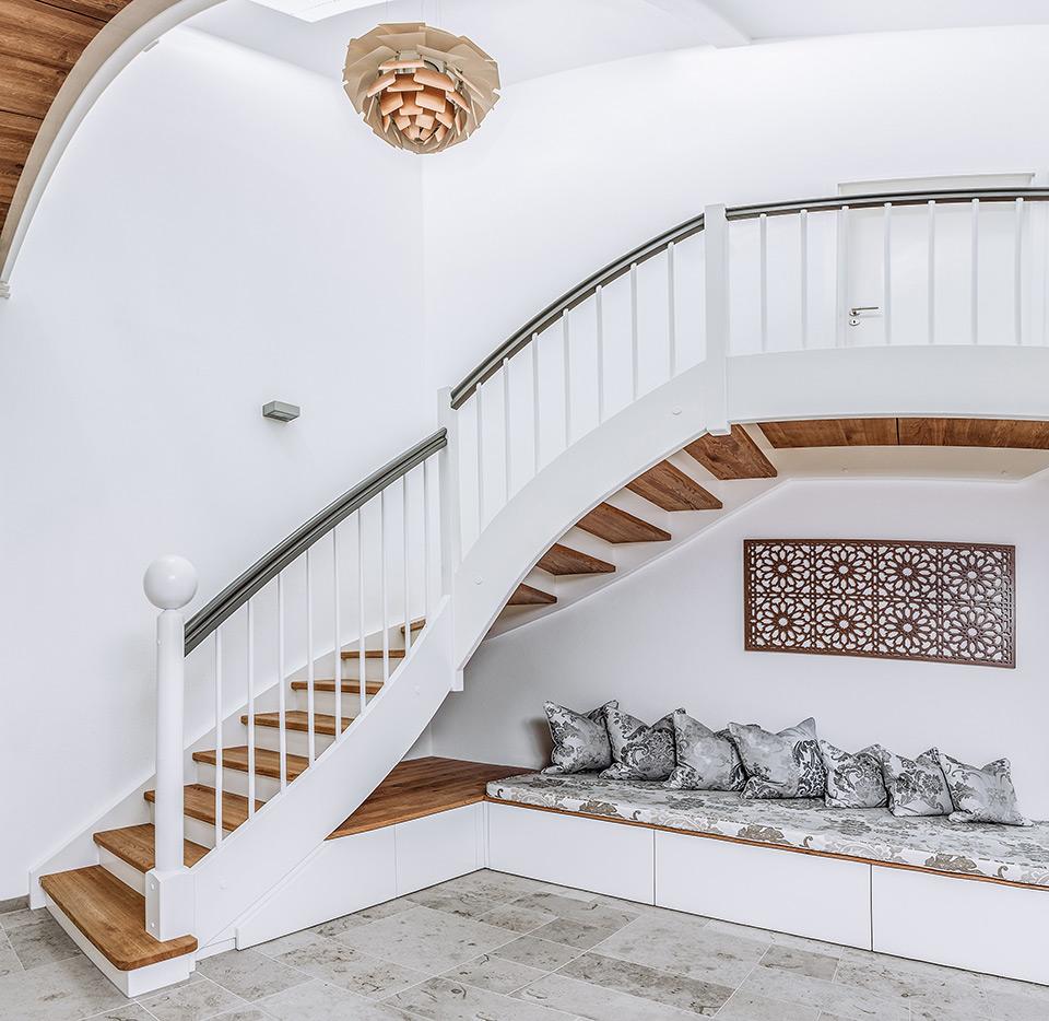 Alber Treppensysteme Wohnraumtreppen Haustreppen