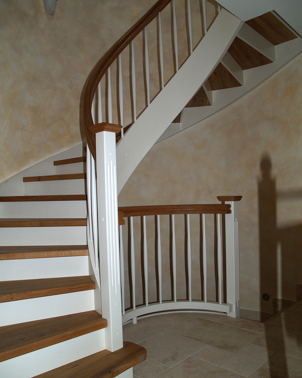 Landhaustreppe Alber Details